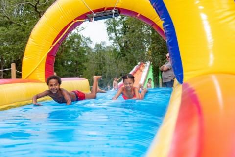 jeux d'eau pour enfants famille La Baule Parcofolies
