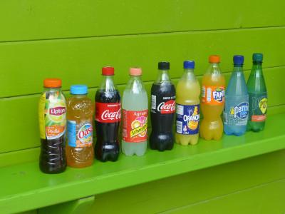 boissons fraîches à l'espace Snacking Parcofolies La Baule