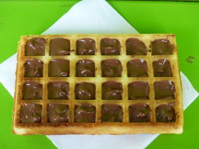 la gaufre au Nutella Parcofolies La Baule