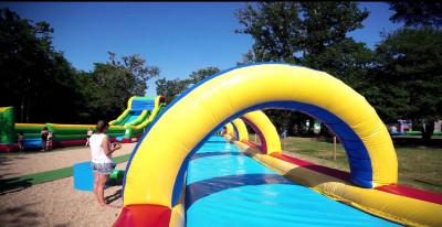 Aquagliss espace aquatique à La Baule Parcofolies parc de loisirs
