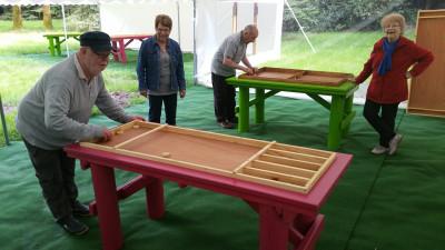 jeu en bois Parcofolies Parc de loisirs