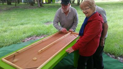 billard jeux en bois Parcofolies La Baule
