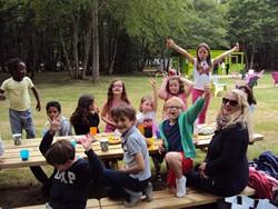 table anniversaire Parcofolies parc de jeux La Baule