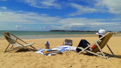 plages de la baule à 10 minutes de Parcofolies