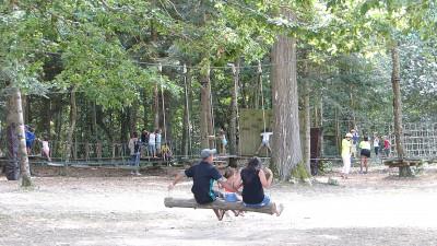 detente en famille à Parcofolies au coeur de la Nature à La Baule