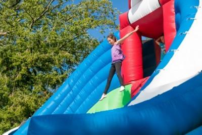 grand saut gonflable géant parcofolies la baule