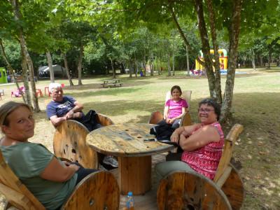 pause détente en famille à Parcofolies