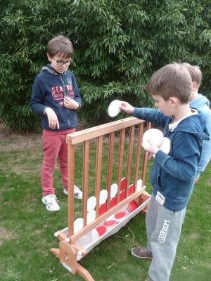 puissance 4 jeu en bois activité enfant Parcofolies La Baule