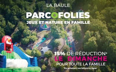 15% de réduction le dimanche pour toute la famille à Parcofolies
