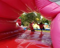 le ventrigliss de la peur gonflable géant Parcofolies