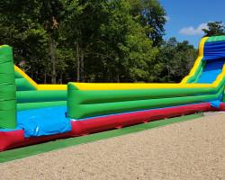 AQUASLIDE MAX gonflable géant Parcofolies parc de loisirs La Baule