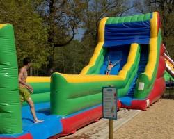 jeux d'eau aquagliss aquaslide parc de loisirs la baule parcofolies