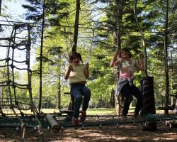 parcours nature et équilibre parcofolies parc de jeux 2-12 ans