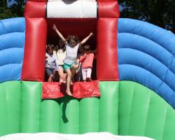 jeu gonflable géant à La Baule Parcofolies