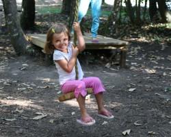 tyrolienne pour les petits à partir de 3 ans parcofolies la baule