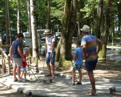 jeu de croquet en famille Parcofolies La Baule