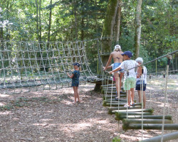 parcours obstacles Parcofolies La Baule