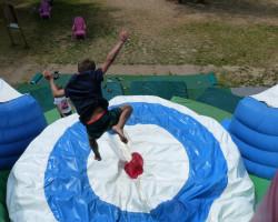 saut de 2 mètres grand saut Parcofolies
