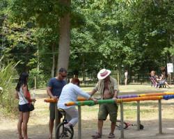 activité monocycle adulte et enfant Parcofolies