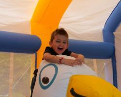 gonflable géant pour les enfants de 2 à 5 ans à Parcofolies
