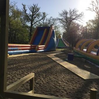 jeux d'eau géant à Parcofolies
