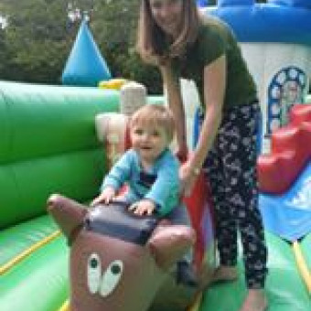 Jeux gonflables pour les 2-5 ans Parcofolies parc de jeux La Baule